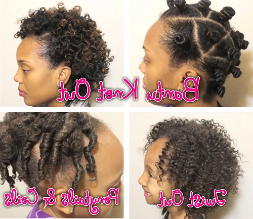Family Hair Care - Transitioning Bantu Knots And Kids Hairstyles in 2018 Bantu Knots And Beads Hairstyles