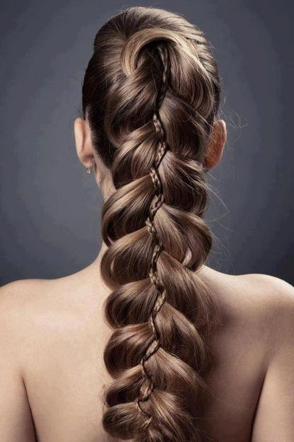 Fancy Braid @bloom | Beauty In 2019 | Hair, Long Hair throughout Best and Newest Fancy Braided Hairstyles