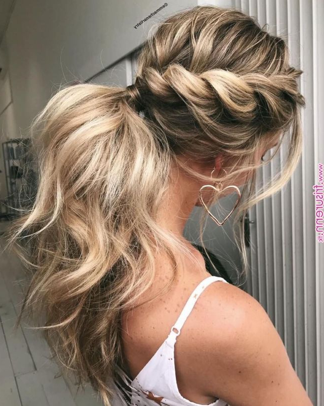 Fancy Braided Hairstyles « Frisuren regarding Most Recent Fancy Braided Hairstyles