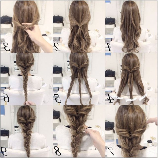 Fancy Three Braids Braided Into One | Hairstyles | Long Hair intended for Most Current Fancy Braided Hairstyles