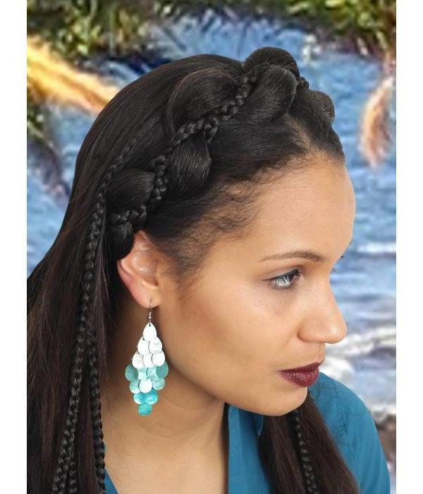 Fantasy Mermaid Headband & Renaissance Hair Piece Magic Pertaining To Recent Mermaid'S Hairpiece Braid Hairstyles (View 6 of 25)