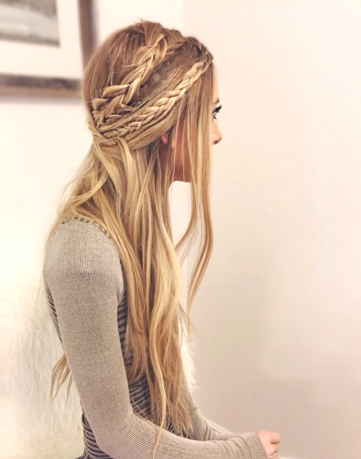 Fashion : One Long Braid Hairstyles Engaging 28 Fancy inside Most Recently Fancy Braided Hairstyles