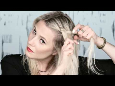 Festival Hairstyles: Chunky Crown Braid Updo - Youtube regarding Latest Chunky Crown Braided Hairstyles