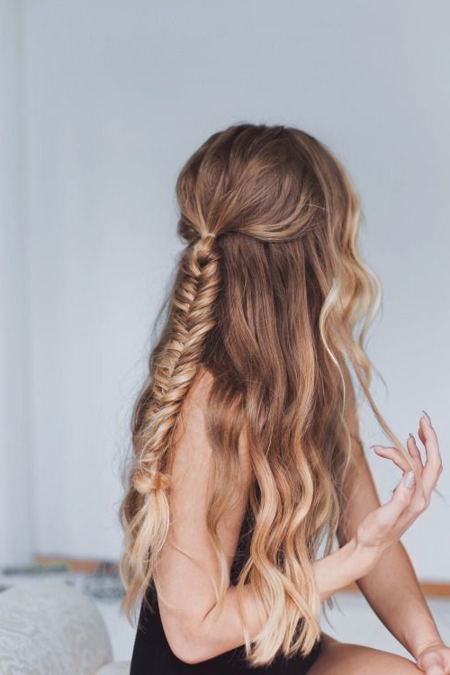 Fish Tail Braids Are Perfect Additions For Mermaid Hair for Most Recent Flawless Mermaid Tail Braid Hairstyles