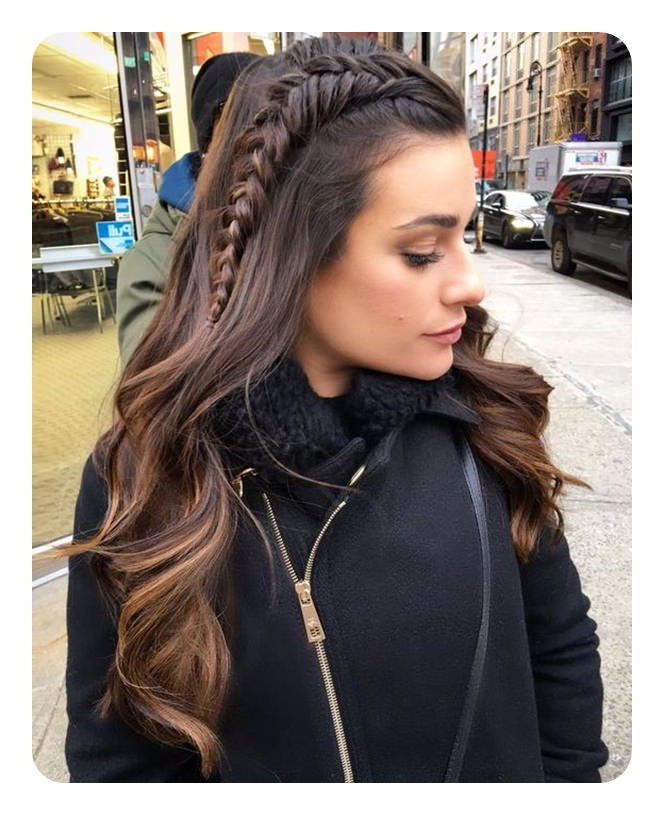 Fishtail Braid A 104 Of Hot And Happening Hairstyles For Regarding Best And Newest Over The Shoulder Mermaid Braid Hairstyles (View 25 of 25)