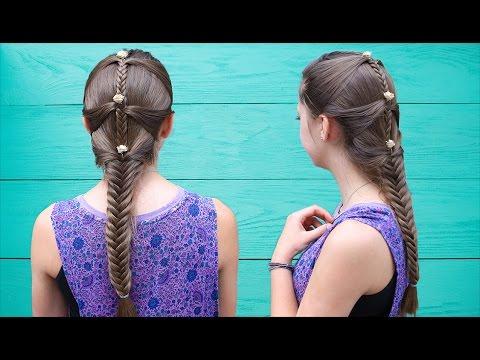 Fishtail Mermaid Braid Hair Tutorial Ft (View 8 of 25)
