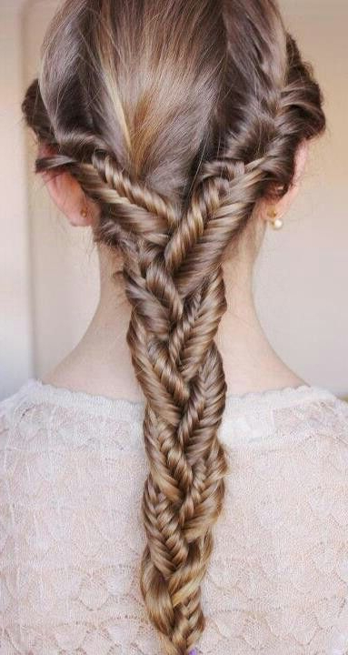 Fishtail Rope Braid   Fixer Upper   Long Hair Styles Pertaining To Most Recently Rope And Fishtail Braid Hairstyles (View 14 of 25)