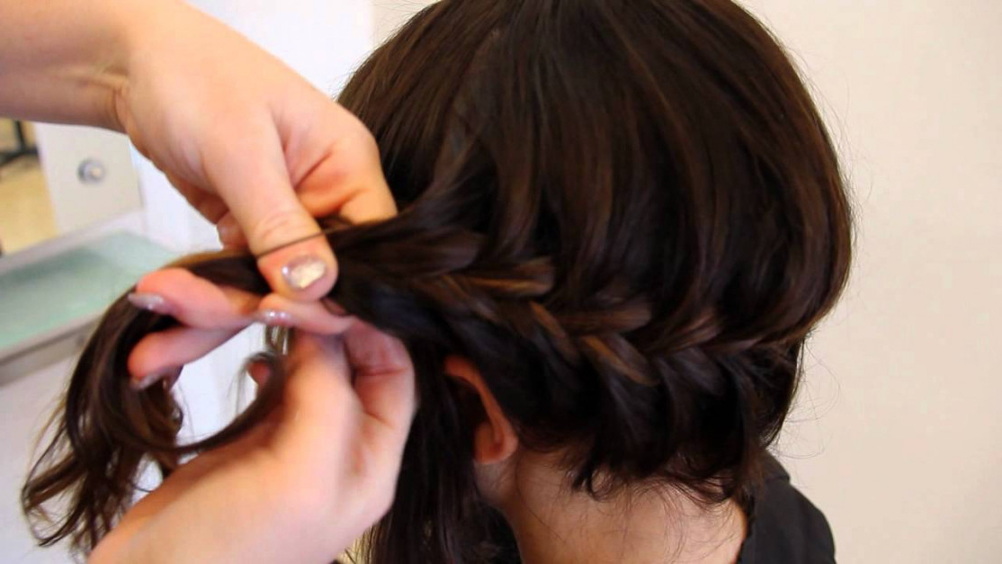 Fishtail Rope Braid For Medium Length Hair | Hair Tutorial within Most Popular Rope And Fishtail Braid Hairstyles