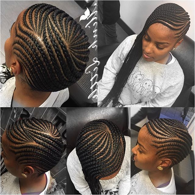 Follow Me On Pinterest . | Cornrows | Hair Styles, Hair with Most Popular Thick Wheel-Pattern Braided Hairstyles