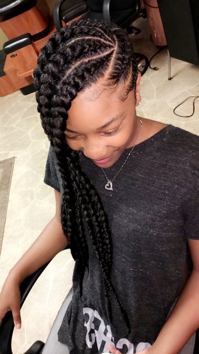 For Live Pins Follow ; @victxoriaaa | H A I R | Black pertaining to Recent Thick Wheel-Pattern Braided Hairstyles