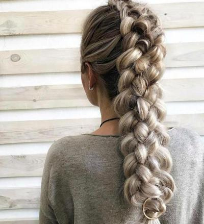 Four Strand Braid | Tumblr pertaining to Best and Newest Nostalgic Knotted Mermaid Braid Hairstyles