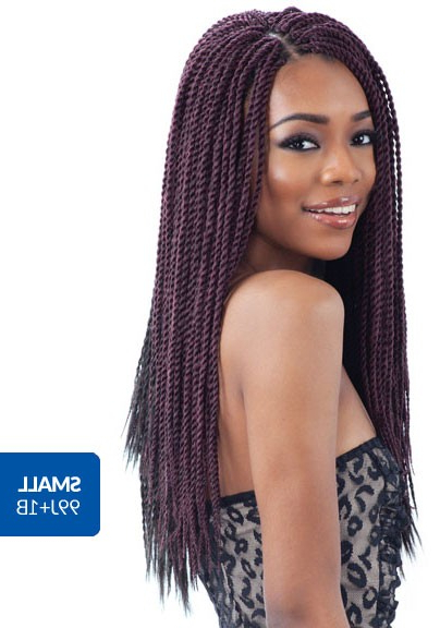Freetress Crochet Braid Senegalese Twist Large / Small Intended For Best And Newest Long Twists Invisible Braids With Highlights (View 11 of 25)
