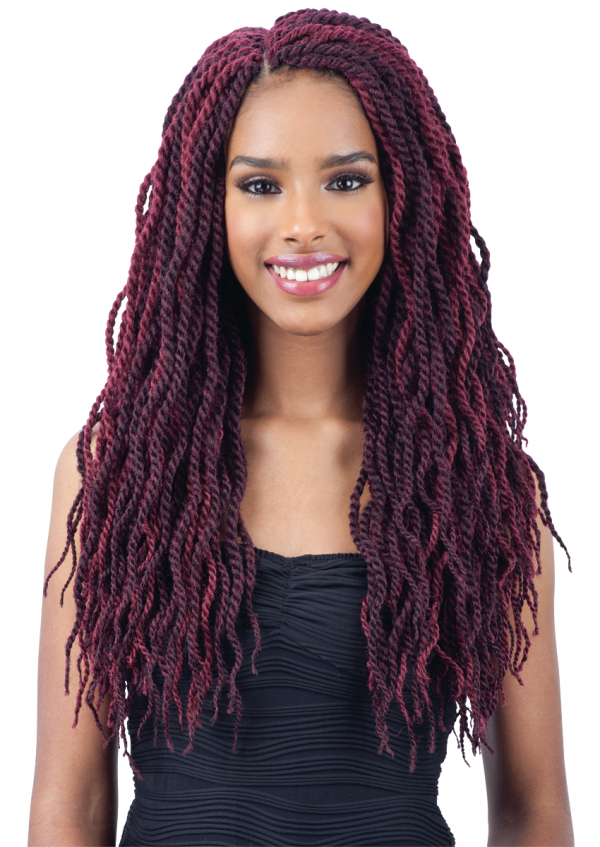 Freetress Pre Looped Crochet Braid Wavy Senegalese Twist 18 Inch within 2018 Long Twists Invisible Braids With Highlights