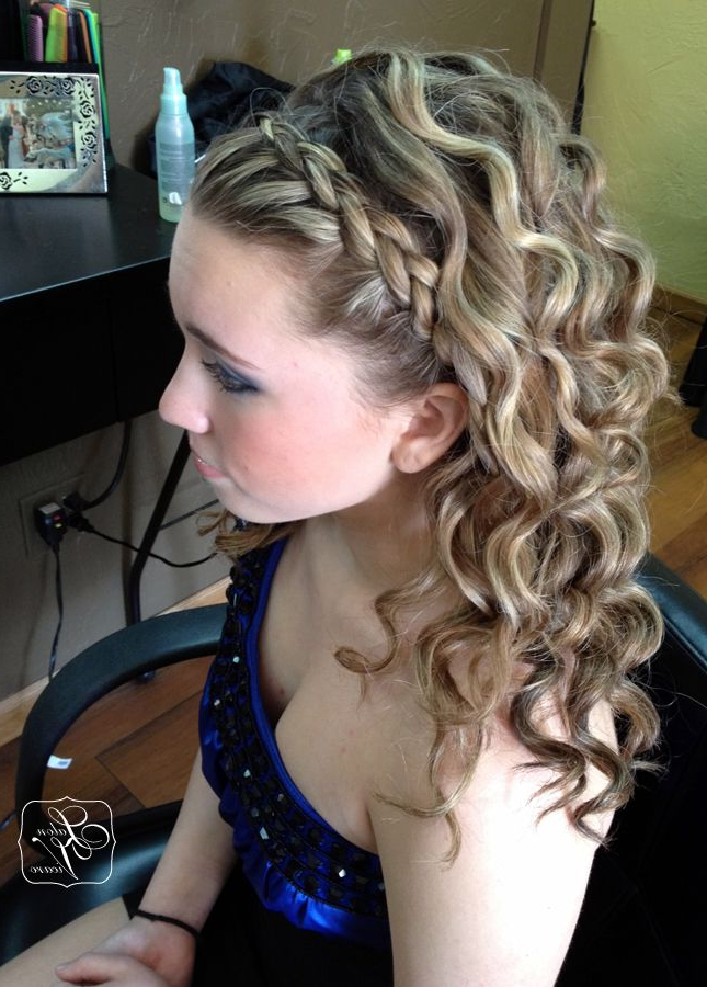French Braid Headband Curly Hair - Short Curly Hair for Best and Newest Braided Headband Hairstyles For Curly Hair