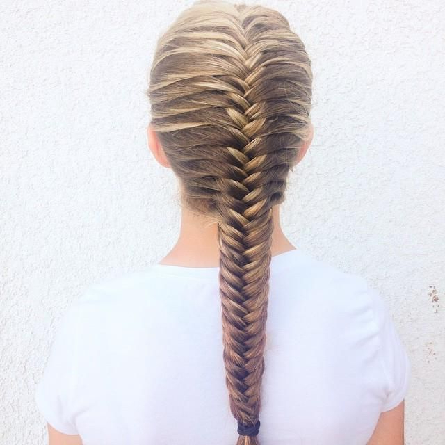 French Fishtail …   Fun Hairstyles To Do   Braided Inside Latest 3D Mermaid Plait Braid Hairstyles (View 7 of 25)