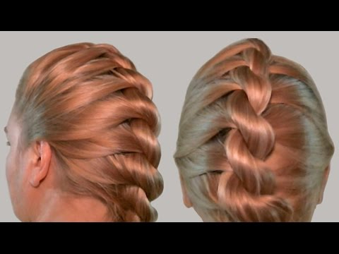 French Twist Into Rope Braid| Back To School Hairstyles| Video Tutorial within Most Up-to-Date Easy French Rope Braid Hairstyles