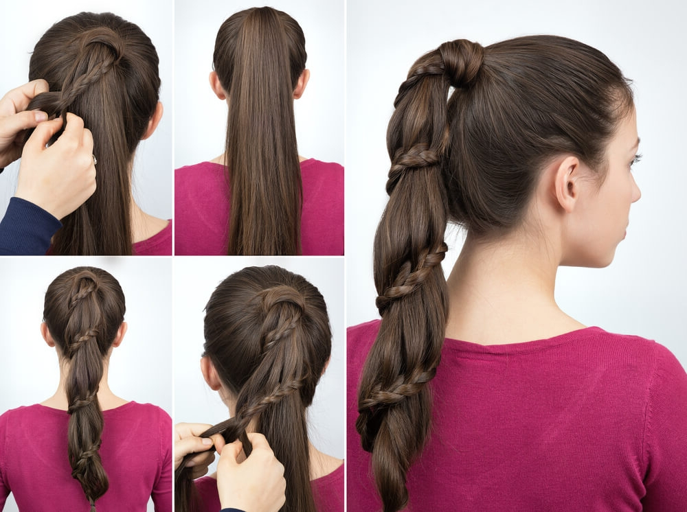 Fun Braid Styles For The Holidays – Herstyler With Regard To 2018 Wrapped Ponytail Braid Hairstyles (View 15 of 25)