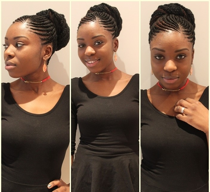 Ghana Braids: Check Out These 20 Most Beautiful Styles intended for Recent Whirlpool Braid Hairstyles