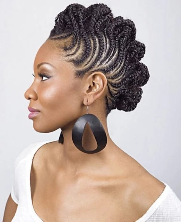 Ghana Weaving Styles For Round Face ? Yen.gh within 2018 Whirlpool Braid Hairstyles