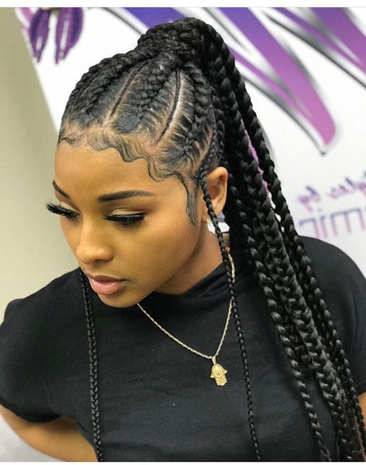 Goddess Style ?? | Twist & Braidsartist Fame | Braided with Newest Diamond Goddess-Lemonade Braided Hairstyles