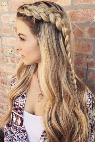 Gorgeous Ideas Of Dutch Braid Hairstyles 2018 – My Stylish Zoo Intended For Current Long Blonde Braid Hairstyles (View 8 of 25)