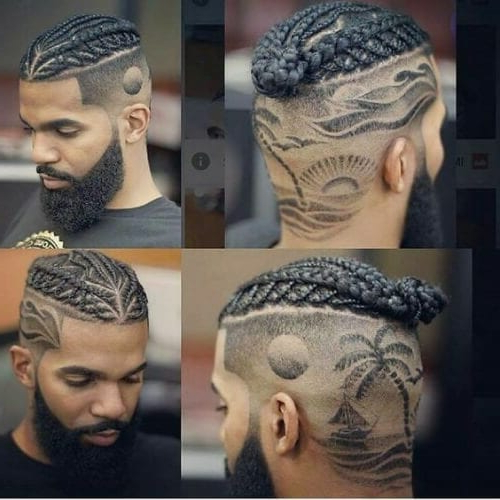 Hair Designs: 50 Wildly Creative & Incredibly Diverse Ideas Regarding Most Recent Blue Sunset Skinny Braided Hairstyles (View 11 of 25)