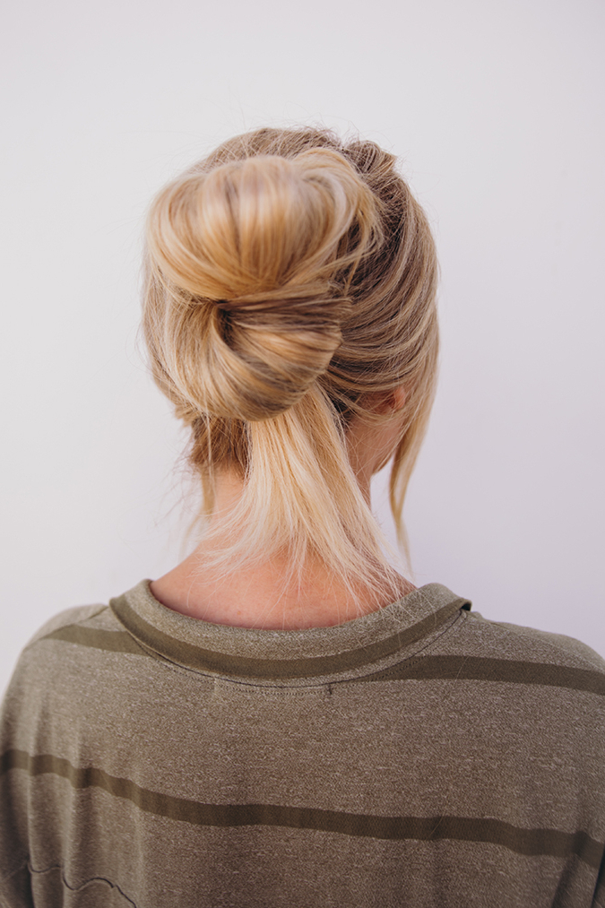 Hair How To: Five Minute Hairstyles From Amber Fillerup Pertaining To Most Recent Back And Forth Skinny Braided Hairstyles (View 23 of 25)