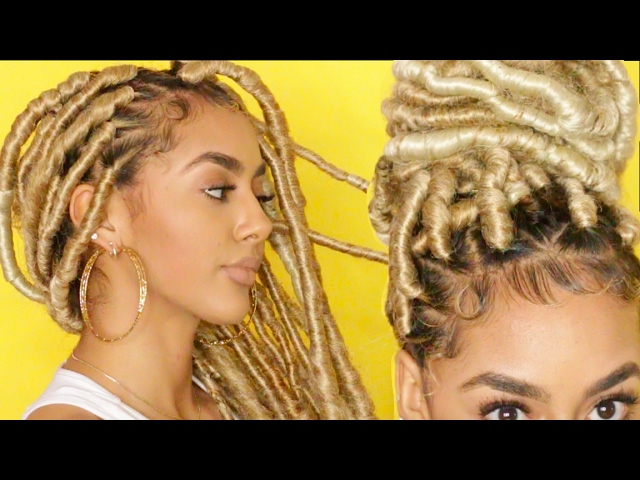 Hair Trends: All You Need To Know About Faux Locs – Africa Regarding Most Recent Yarn Braid Hairstyles Over Dreadlocks (View 25 of 25)