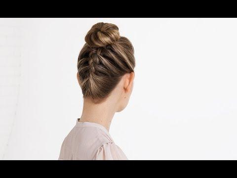 Hair Tutorial – Braided Ballerina Bun Throughout Current Braided Ballerina Bun Hairstyles (View 4 of 25)