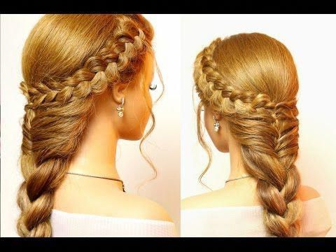 Hairstyle For Long Hair: Dutch Crown Braid With A French Inside Most Recent Mermaid Crown Braid Hairstyles (View 2 of 25)