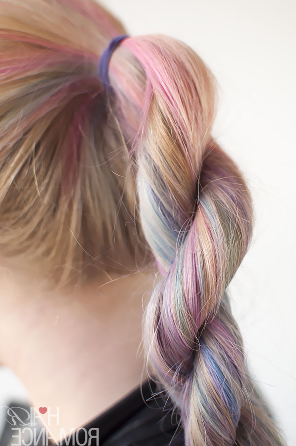 Hairstyle Tutorial – How To Do A Rope Twist Braid – Hair Romance With Regard To Most Popular Pink Rope Braided Hairstyles (View 8 of 25)