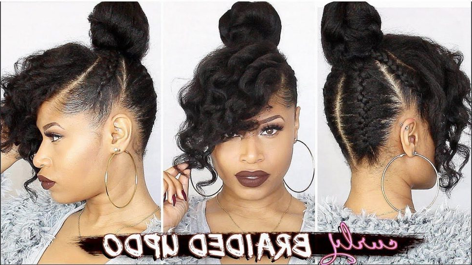 Hairstyles : Asymmetrical Hair Themes With Reference To For Latest Naturally Curly Braided Hairstyles (View 22 of 25)
