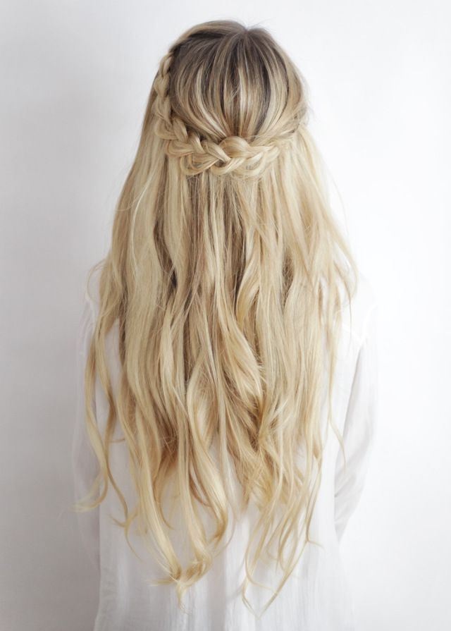 Featured Photo of Half Up Half Down Boho Braided Hairstyles