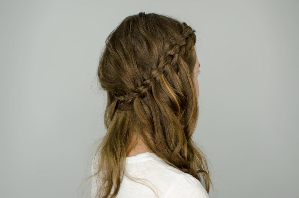 Half Up Half Down Hair Styles | Glam & Gowns Blog With Recent Half Up, Half Down Braid Hairstyles (View 20 of 25)