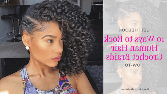 Hot: 10 New Ways To Flaunt Crochet Braids With Human Hair Inside Current Crochet Micro Braid Hairstyles Into Waves (View 25 of 25)