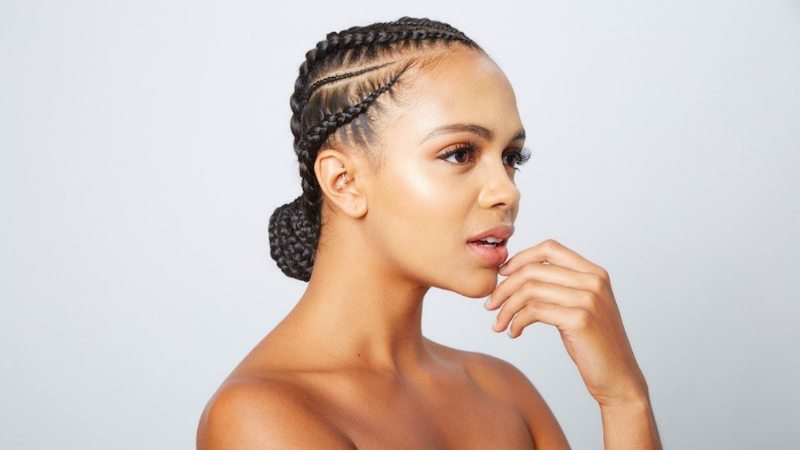 How Much Hair Should I Buy? The Complete Guide! | Un Ruly In Most Recently High Half Up Bun Invisible Braids (View 17 of 25)