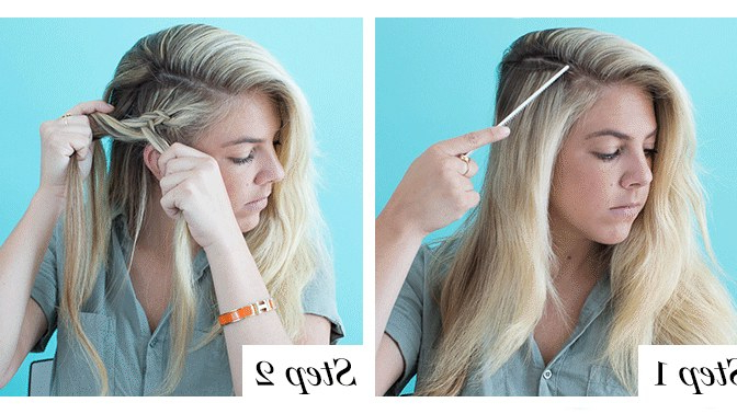 How To Braid Hair – 10 Tutorials You Can Do Yourself | Glamour Intended For Most Current Forward Braided Hairstyles With Hair Wrap (View 10 of 25)