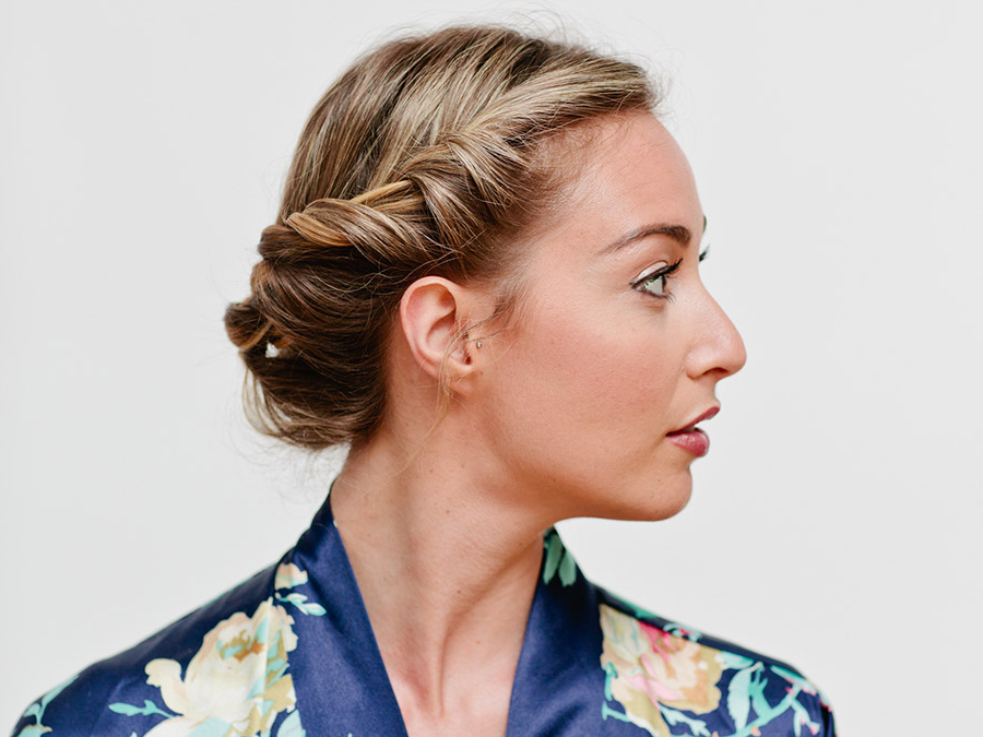 How To Create A Sexy Rope Braid Updo – More With Regard To 2018 Messy Rope Braid Updo Hairstyles (View 25 of 25)