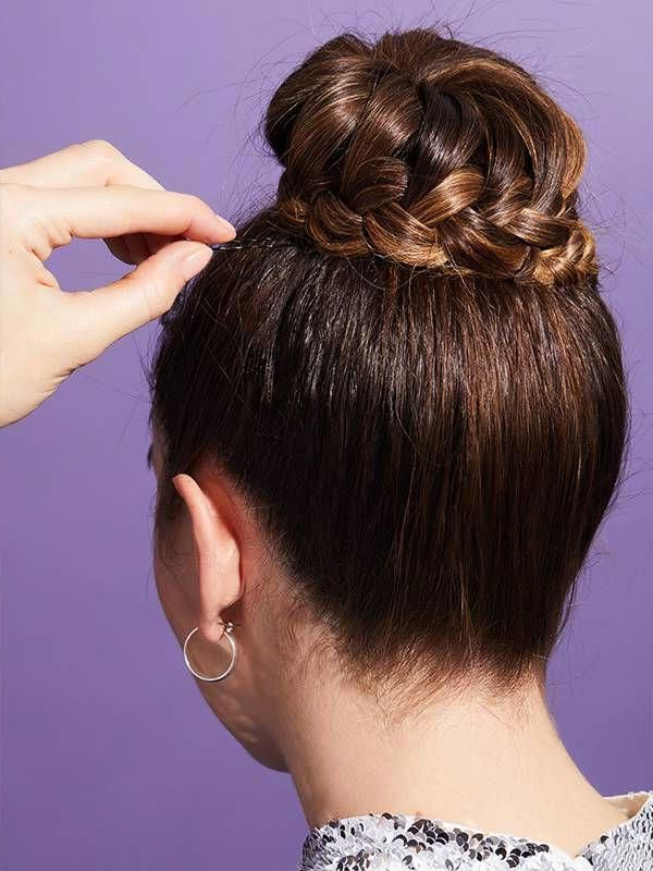 How To Do A Braided Ballerina Bun With A French Braid Intended For Most Recent Braided Ballerina Bun Hairstyles (View 22 of 25)