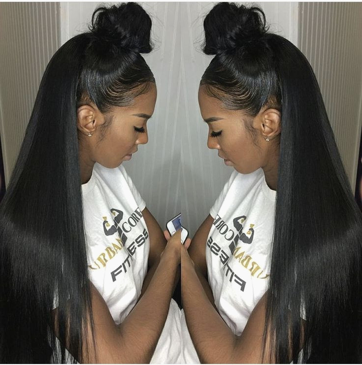 How To Do Half Up/down W/invisible Ponytail – Urban Grace In Most Up To Date High Half Up Bun Invisible Braids (View 5 of 25)