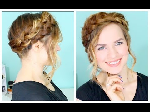 How To: Easy Crown Braid In Newest Medieval Crown Braided Hairstyles (View 9 of 25)
