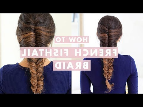 How To Fishtail Braid Your Hair – The Trend Spotter Regarding Most Popular Oversized Fishtail Braided Hairstyles (View 12 of 25)
