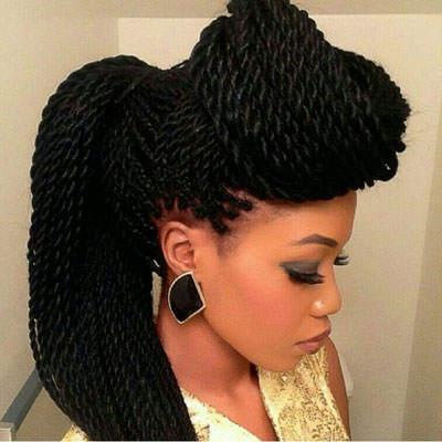 How To Loosen Tight Braids – Evewoman Pertaining To Best And Newest Dookie Braid Bump Hairstyles (View 8 of 25)