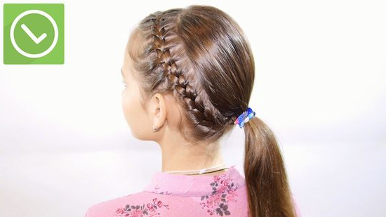 How To Make A French Braid Headband: 9 Steps (With Pictures) Regarding Current Tight Braided Hairstyles With Headband (View 12 of 25)