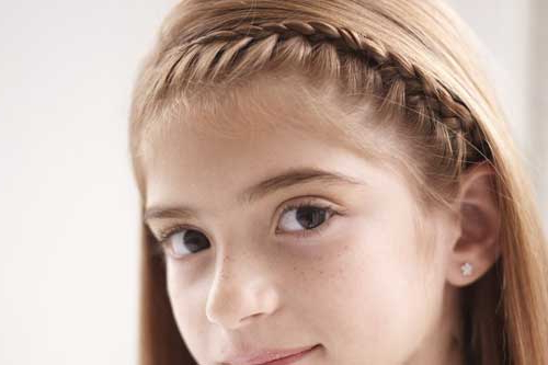 How To Make A French Braid Headband – Nj Family Intended For Most Popular Tight Braided Hairstyles With Headband (View 11 of 25)