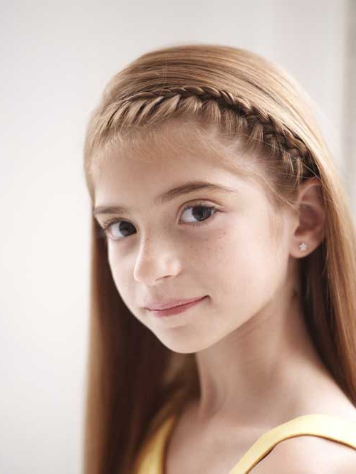 How To Make A French Braid Headband – Nj Family Throughout Most Recent Tight Braided Hairstyles With Headband (View 4 of 25)