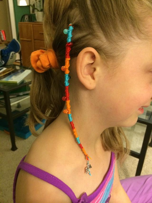 How To Make A Hair Wrap In Recent Braided Hairstyles With Beads And Wraps (View 17 of 25)