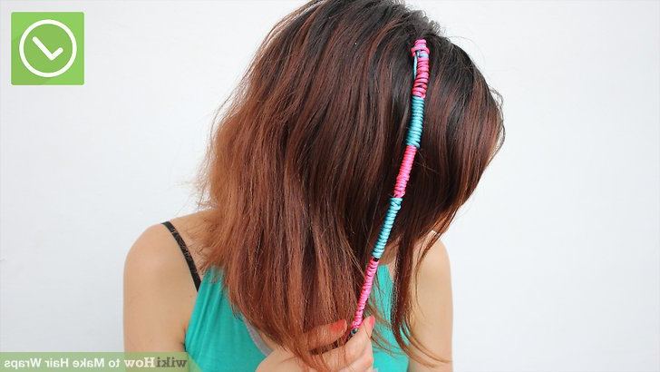 How To Make Hair Wraps Videos | Wikihow Regarding Most Popular Forward Braided Hairstyles With Hair Wrap (View 18 of 25)