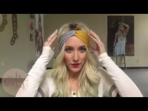 How To Wear A Turband Headband – 3 Ways To Wear A Twisted Turban Boho Headband Hairstyles Regarding Most Recently Loose Braided Hairstyles With Turban (View 10 of 25)