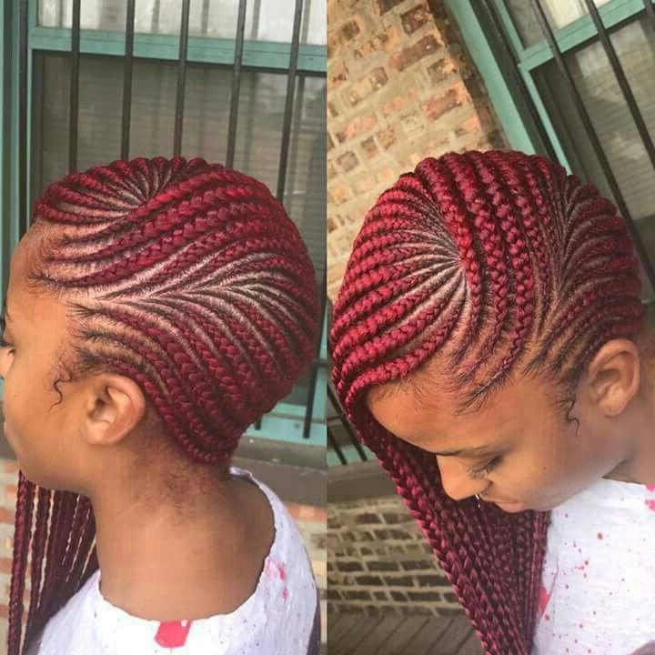 Ig: @ilovekj   Braid Styles   Braided Hairstyles, Braids For Inside Most Recent Cherry Lemonade Braided Hairstyles (View 12 of 25)